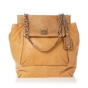 Olivia Harris Square Flap Shoulder Bag Stone Purse
